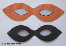 Cardboard Masks To Decorate Halloween Craft for Kids Mask 52