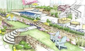 landscape architecture blueprints. Unique Blueprints Ideas Residential Landscape Design Drawings Fresh At Sketches Architecture  Best Plan Template In Blueprints