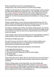 essay college lifestyle tv formatting personal statement  college essays huffpost