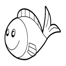 Unsurpassed Simple Fish Template Bargain 50 Free Printable Pdf