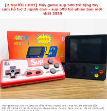 Máy chơi game cầm tay mini 4 nút sup 500 trò bản nâng cấp sup 400