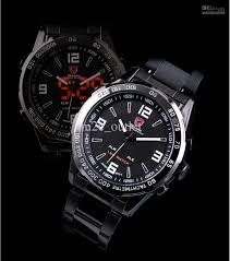 mens led analog watches black steel quartz sport digital dual time over 1000 certified products genuine shark watch top quality 12 months international warranty luxury box best for resell and present