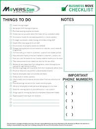 Moving Checklist Excel Move Out Apartment Inspection Checklist For