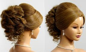 Hair Style For Medium Hair prom hairstyle for long medium hair tutorial wedding updo youtube 8793 by wearticles.com
