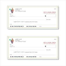 Blank Cheque Template Mesmerizing Blank Check Template Free Templates Bank Td Cheque