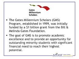 introduction to the gates millennium scholars program orgcreated by phong luu 2  the gates millennium