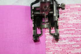 How to Use a Quilting Presser Foot: Stitch In the Ditch & Using a walking foot to stitch in the ditch Adamdwight.com