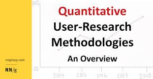 What Is Descriptive Evaluative Research Design Quantitative User Research Methodologies An Overview