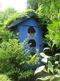 giant birdhouse garden shed bird