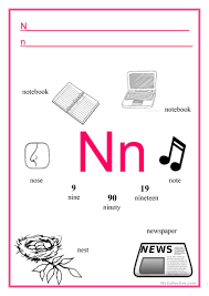 Wikipedia has tons of comprehensive information, but can be confusing to a beginner. Alphabet Letter N English Esl Worksheets For Distance Learning And Physical Classrooms