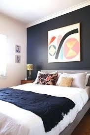 dark bedroom paint ideas dark blue accent wall accent wall paint ideas dark navy blue bedroom