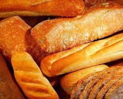 Fresh Baked Bread Background Variety Stock Image Colourbox