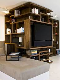 Images interior design tv Lcd Tv Wall Design Ideas For Your Living Room This Custom Artistic Shelving Unit Youtube Tv Wall Design Ideas For Your Living Room Contemporist