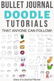 Ultimate List Of Bullet Journal Doodles 50 Free Step By Step