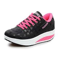 Wysbaoshu Womens Breathable Walking Shoes Sports Running Sneakers
