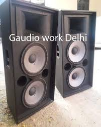 Srx Dj Sound Box Cabinet Duble 15 at Rs 9000 /piece | Speakers ...