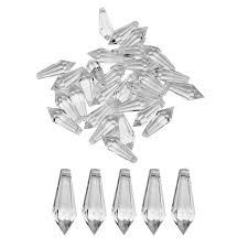 30pcs acrylic chandelier crystal beads hanging garland wedding party decor