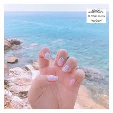 At Eznailssalon Ez Nails Salon 夏日粉色花花summer Theme