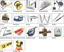 Type of measuring tools Carpentry Various Types Of Measuring Instruments Me Mechanical General Characteristics And Selection Of Measuring Instruments