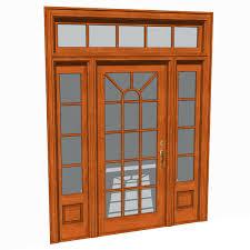 front door texture. Front Doors Set 03 3D Model Door Texture E