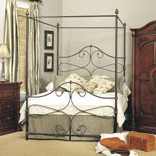 Bedroom : King Size Farmhouse Canopy Bed Platform Chippendale Four ...