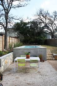 A gorgeous pool like this might be on your fantasy wishlist, but let's dare  to dream, shall we? From Sam & Anne's Cozy Modern Blend in South Austin,  Texas.