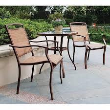 dune outdoor furniture. mainstays sand dune 3piece outdoor bistro set seats 2 furniture