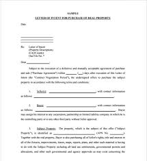 Examples Of Letter Of Intent 40 Free Letter Of Intent Template Samples Formats