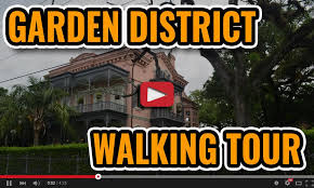garden district new orleans walking tour map. Brilliant District Free Garden District Walking Tour Map In New Orleans Throughout A