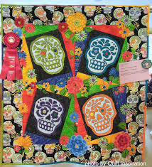Quilt Inspiration: Quilts (and free patterns) for Dia de los Muertos! & Quilts (and free patterns) for Dia de los Muertos! Adamdwight.com