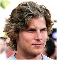 blonde long hairstyles for men with wavy hair 2017
