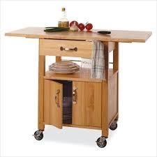 butcher block cart carts kitchen for