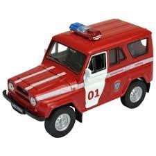«<b>Модель машины Welly</b> УАЗ 31514 пожарная охрана ...