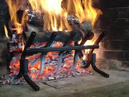 wall of fire grates increase heat output and overall fireplace efficiency while eliminating fireplace smoke