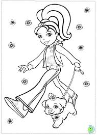Small Picture Polly Pocket Coloring page DinoKidsorg