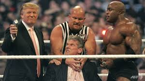 Differences Wwe Cna Men Of - Clash Big In Vs Japanese Sumo Trump's