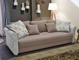 Wohnzimmer Couch Nett Rattan Sofa Wohnzimmer Funktionssofa Ragnar 235x106 Cm Greige