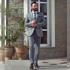 Light Grey 2 Piece Suit Light Grey 2 Piece Suit Andre Emilio