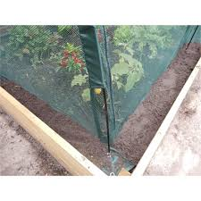 a nifty little net tunnel designed to give your plants and seedlings an extra layer of protection from all sorts of nasties easily foldable when not
