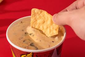 paring qdoba s queso with chipotle s is all about expectations as mentioned above queso is the viscous smooth processed cheese dip far from