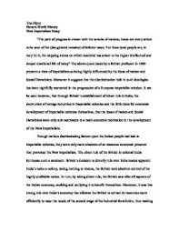 new imperialism essay gcse business studies marked by page 1 zoom in
