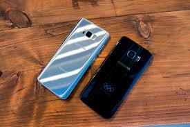 samsung galaxy s7 edge plus. edge is the new flat: \u201cedge\u201d moniker gone because both versions of galaxy s8 have curved screens this time around. samsung s7 plus d