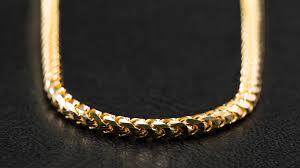 Image Design Jewellery Inc 10k Yellow Gold Basra Link Chain Kilani Jewellery Inc