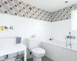 three quarter bathtub danish alcove bathtub photo in with a vessel sink furniture like cabinets quarter