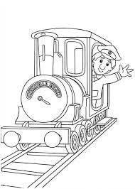 Small Picture Ajay Bains on a Locomotive in Postman Pat Coloring Pages Bulk Color