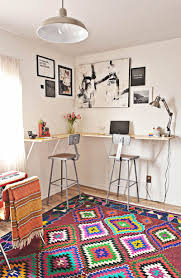 Home office standing desk Diy Wide Computer View In Gallery Standing Desk Decoist Design Tips For Standing Desks That Are Versatile Enough For