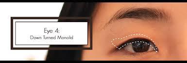 eye 4 down turned monolid