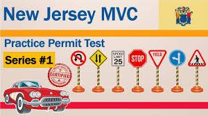 new jersey mvc practice permit test series 1