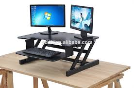 adjule height laptop stand table stand up desk computer workstation