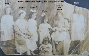 Family of Alfred William POTTER and Esther FOAKES
